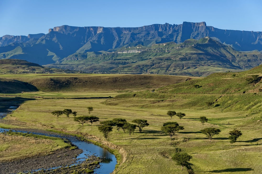 Royal Natal National Park in Drakensberg Mountain, Südafrika